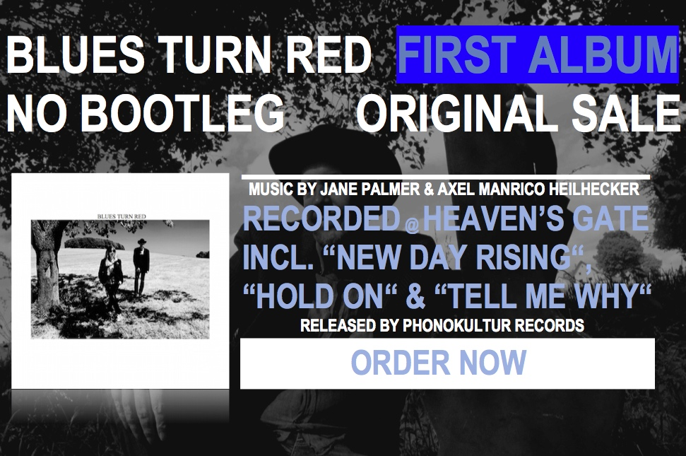 "btr poster ""Blues Turn Red First Album - Order Now"""